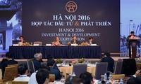 Hà Nội tổ chức hội nghị hợp tác đầu tư và phát triển năm 2017 vào ngày 25/06