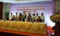 Tăng cường hợp tác truyền thông giữa tỉnh Quảng Ninh với bốn cơ quan báo chí Trung ương