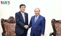 Thủ tướng tiếp Tổng giám đốc điều hành Tập đoàn Mitsubishi Motors