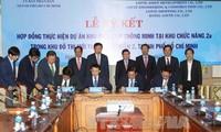 Lễ ký hợp đồng thực hiện dự án khu phức hợp thông minh (ECO – SMART CITY)
