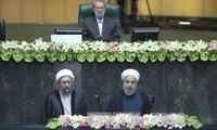 Bộ trưởng, Chủ nhiệm Văn phòng Chủ tịch nước Đào Việt Trung dự lễ nhậm chức của Tổng thống Iran