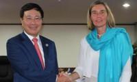 Việt Nam tăng cường hợp tác với các quốc gia và EU