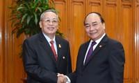 Thủ tướng Nguyễn Xuân Phúc tiếp Phó Chủ tịch thứ nhất Thượng viện Campuchia