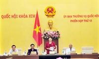 Bế mạc Phiên họp thứ 13 Ủy ban Thường vụ Quốc hội