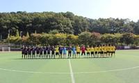 Sôi động giải bóng đá Daejeon Cup lần thứ nhất