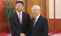 Tổng Bí thư Nguyễn Phú Trọng tiếp Đặc phái viên của Tổng Bí thư Đảng Cộng sản Trung Quốc