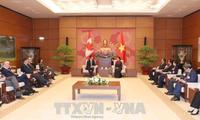 Chủ tịch Quốc hội Nguyễn Thị Kim Ngân tiếp Thủ tướng Canada Justin Trudeau
