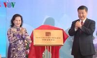 Lễ khánh thành, bàn giao cung hữu nghị Việt - Trung