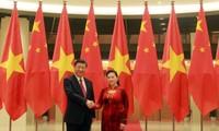 Chủ tịch Quốc hội Nguyễn Thị Kim Ngân hội kiến với Tổng Bí thư, Chủ tịch Trung Quốc Tập Cận Bình