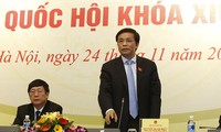 Họp báo công bố kết quả kỳ họp thứ 4, Quốc hội khóa 14
