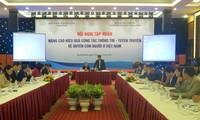 """Hội nghị tập huấn """"Nâng cao hiệu quả công tác thông tin, tuyên tuyền về quyền con người ở VN"""""""