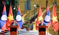 Thúc đẩy quan hệ Việt Nam - Lào phát triển lên tầm cao mới