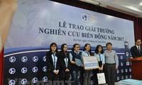 Trao Giải thưởng nghiên cứu Biển Đông 2017