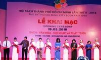 Khai mạc Hội sách Thành phố Hồ Chí Minh lần thứ X năm 2018