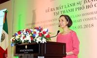 Khai trương Văn phòng và ra mắt Lãnh sự danh dự Liên bang Mexico tại Thành phố Hồ Chí Minh