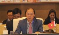 Thứ trưởng Ngoại giao Nguyễn Quốc Dũng - Ảnh: Huy Bình/TTXVN