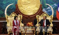 Các hoạt động của Phó Chủ tịch nước Đặng Thị Ngọc Thịnh trong chuyến thăm chính thức Lào
