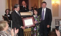 Nguyen Thi Kim Tien named among best leaders at Harvard forum