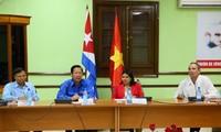 Youths of Vietnam, Cuba strengthen friendship