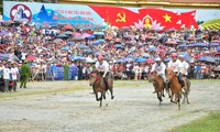 Horse racing of ethnic groups in northwestern mountain region