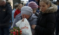 Russia holds state funeral to honor victims of plane crash in Egypt