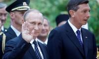 Russian President visits Slovenia