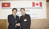 Diễn đàn doanh nhân người Việt tại Canada: Nhịp cầu hợp tác thương mại hai nước