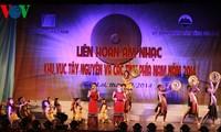 Bế mạc Liên hoan âm nhạc khu vực Tây Nguyên và các tỉnh thành phía Nam