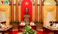 Chủ tịch nước: Ngành Tòa án phải đảm bảo sự độc lập, công khai, minh bạch trong xét xử
