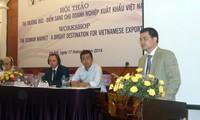 Thị trường Đức thu hút và là điểm trung chuyển hàng hóa Việt Nam sang EU