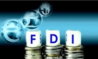 10 tháng, giải ngân vốn FDI đạt 10,15 tỷ USD