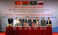 Hiệp định thương mại tự do sẽ mở ra cơ hội mới cho Việt Nam