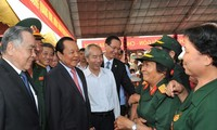 Họp mặt truyền thống cách mạng Sài Gòn-Chợ Lớn-Gia Định đầu Xuân Ất Mùi