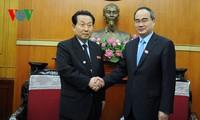Ông Nguyễn Thiện Nhân tiếp Chủ tịch Mặt trận Dân chủ thống nhất Tổ quốc Triều Tiên