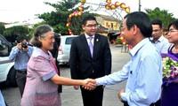 Công chúa Thái Lan Maha Chakri Siridhom thăm và làm việc tại Quảng Nam