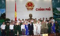 Phó Thủ tướng Nguyễn Xuân Phúc tiếp Đoàn đại biểu người có công tỉnh Nghệ An
