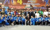 Việt Nam vô địch Giải Vovinam thế giới lần thứ 4 tại Algeria