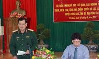 Đoàn công tác Bộ Quốc phòng thăm và làm việc tại Côn Đảo