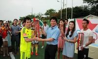 Giải bóng đá lớn nhất của người Việt tại Hàn Quốc thành công tốt đẹp