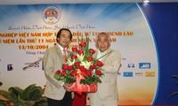 Doanh nhân Việt có đóng góp lớn trong quan hệ Việt - Lào