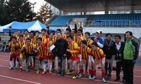 Sôi động giải bóng đá ICFood dành cho sinh viên Việt Nam tại Hàn Quốc