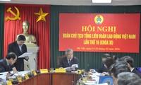Hội nghị Đoàn chủ tịch Tổng liên đoàn lao động Việt Nam lần thứ 16
