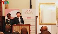 Chủ tịch nước Trương Tấn Sang kết thúc tốt đẹp chuyến thăm Mozambique