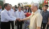 Tổng Bí thư Nguyễn Phú Trọng: Phát triển kinh tế là nhiệm vụ trọng tâm của tỉnh Long An