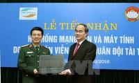 Viettel hỗ trợ Mặt trận Tổ quốc Việt Nam mạng LAN và hệ thống máy tính phục vụ công tác bầu cử