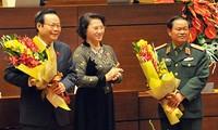 Quốc hội bầu 2 Phó Chủ tịch Quốc hội