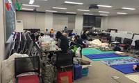 Cộng đồng người Việt kêu gọi hỗ trợ người bị nạn trong động đất Nhật Bản