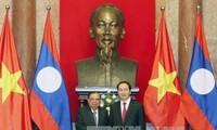 Chủ tịch nước Trần Đại Quang hội kiến Tổng Bí thư, Chủ tịch nước Lào Bounnhang Volachith