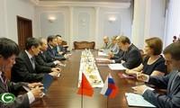 Hội đàm cấp cao giữa Bộ Công an Việt Nam và Bộ Nội vụ Liên bang Nga