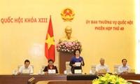 Bế mạc phiên họp 49 Ủy ban Thường vụ Quốc hội